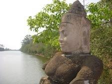 Guardian at Angkor Thom
