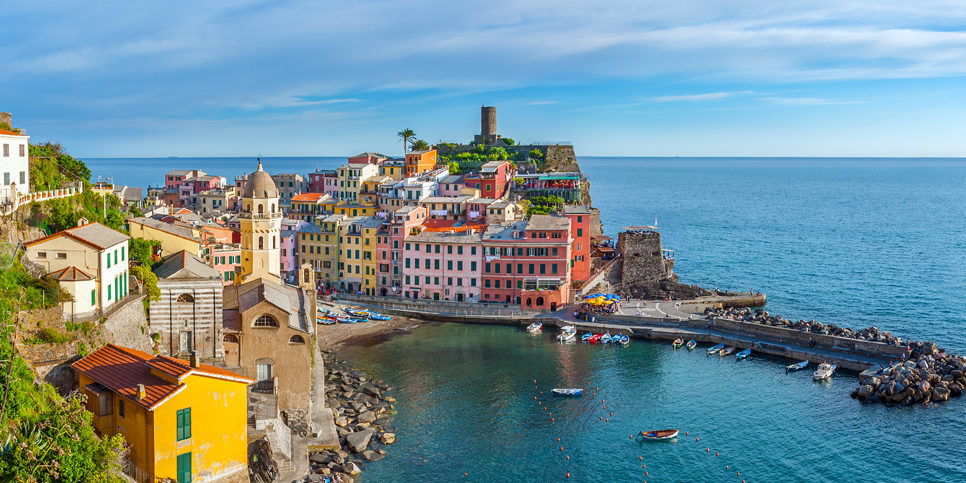Gay Tours of Italy Cinque Terre